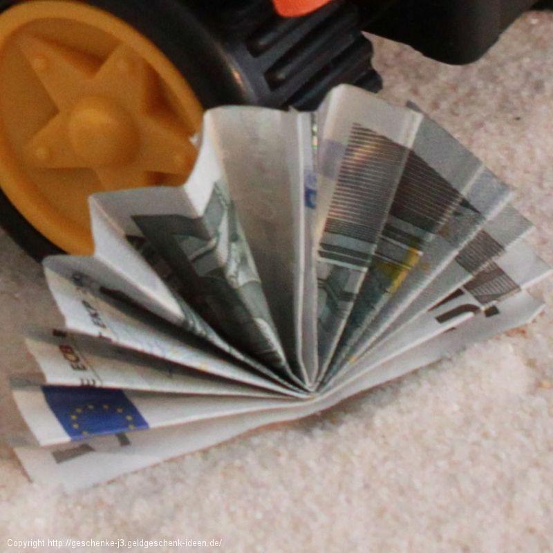 Geldfächer (Halbkreis)