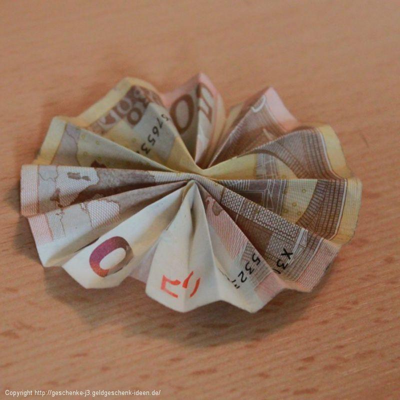 Geldsonne / Geldfächer (Kreis)