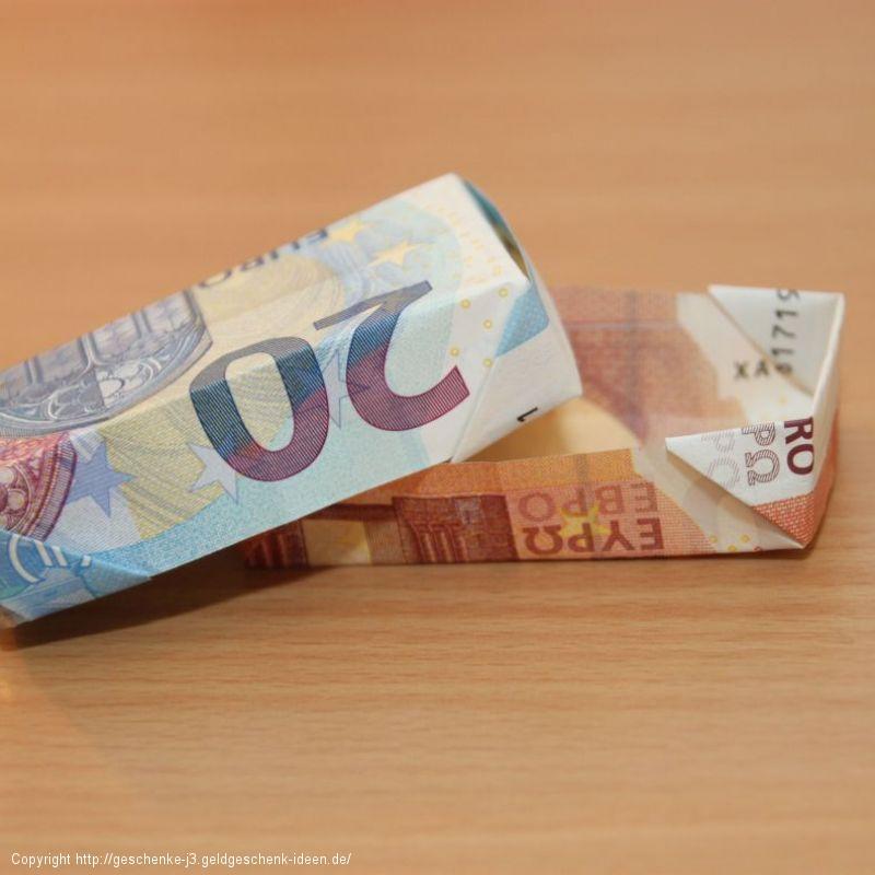 Geldbox/ Geldschachtel falten
