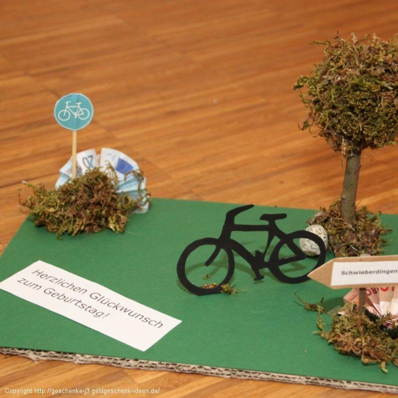 Geld für ein neues Fahrrad