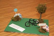 Geldgeschenk-Fahrrad