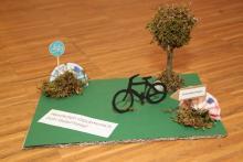 Geldgeschenk für eine Urlaubsreise mit dem Fahrrad